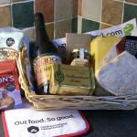 An example of the goodies on our Complimentary Welcome Tray